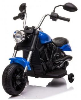 Elektrická motorka Chopper V-Max modrá